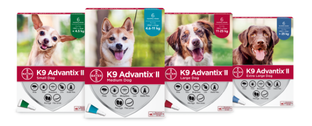 K9 Advantix® II for dogs